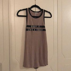 Vs Pink tank top size small